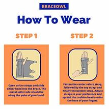 Carpal Tunnel Wrist Brace, Night Sleep Wrist Splint for Both Right Hand and Left image 7