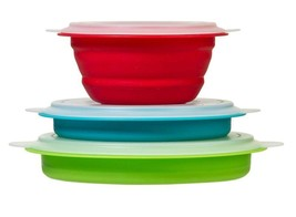 Prepworks By Progressive Collapsible Prep And Storage Bowls With Lids - ... - $17.24