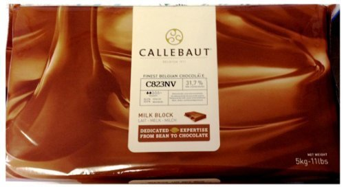 Primary image for Callebaut Finest Belgian Milk Chocolate, 11 Pound