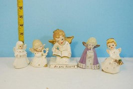 Group of 5 Vintage Classic Christmas Angels fro... - $26.77