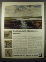 1965 Shell Oil Ad - art by Rowland Hilder - Minsmere - $14.99