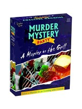 Murder Mystery Party Games - A Murder on the Grill - $24.55