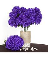 Large Chrysanthemum Mums Balls Artificial Flowers Purple YSefa - $97.35