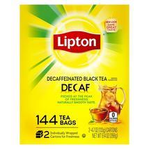 Lipton Decaffeinated Tea Bags (144 ct.) + Free Shipping - $11.98
