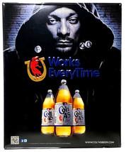 Snoop Dogg Colt 45 Malt Liquor 2011 Metal Tin Beer Bar Sign WORKS EVERYT... - $125.00