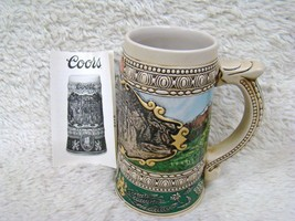 1990 Coors Limited Edition 1935 Print Advertisement Beer Stein, Collecti... - $12.86