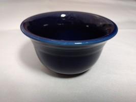 Homer Laughlin Fiestaware Small Fruit Bowl Cobalt Blue - $9.89