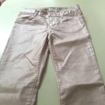 Gapkids 1969 super skinny shiny pink girl's jeans 10 regular - $7.99