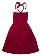 Juicy Couture Dress Micro Terry Smoked Dress Berry Pink  XS - $64.35