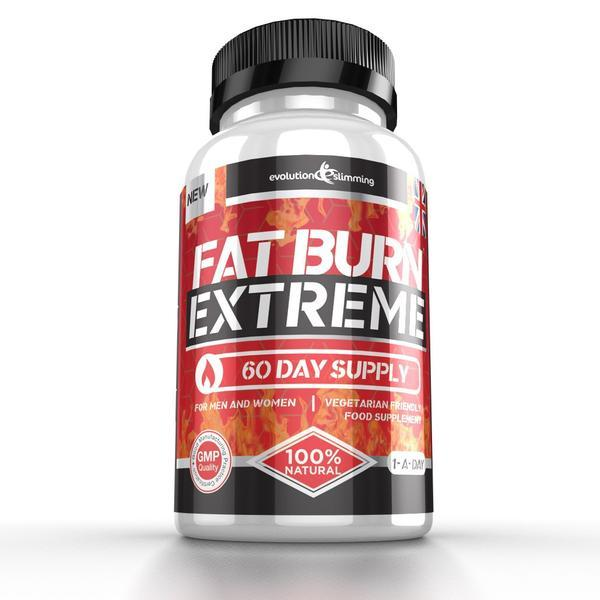 Fat Burn Extreme High Strength Weight Loss Supplement 60 Capsules - $25.99