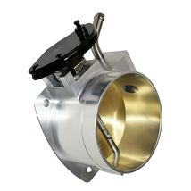 SILVER 102 MM 4 BOLT THROTTLE BODY LS LS1 LS3 LS6 LSX Engine image 8