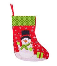Panda Superstore 3 Pieces Christmas Stockings/Stocking For Decoration, Snow Man(