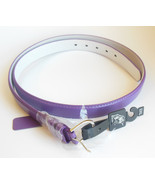 Ladies 2XL Purple Belt by Newbosi Made of Genuine Leather for Plus Size ... - $14.95