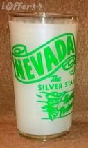 1960'S Retro Hazel ATLAS--NEVADA Souvenir Glass - $10.95