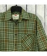 Levis Mens Button Front Shirt Size S Lightweight Pocket Short Sleeve A6-13 - $10.99