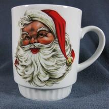 FLORENCE Bareuther Waldsassen Santa Claus Coffee Mug Bavaria Germany Por... - $17.97