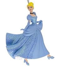 Hallmark Disney CINDERELLA In Glitter Ballgown Figure Ornament Stocking Stuffer! - $12.94