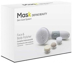 Mask Gray Facial Brush And Body Polisher Skin Cleansing System - $39.80