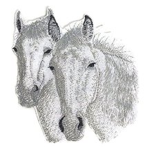 Custom and Unique Horse [Connemara Horses Faces] Embroidered Iron On/Sew... - $11.87