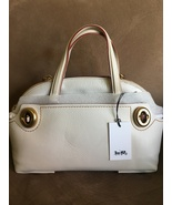 NWT COACH 1941 OUTLAW SATCHEL 36 IN glovetanned pebble leather chalk/white - $559.99