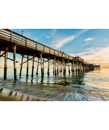 Balboa Pier at Newport Beach, CA, Fine Art Photos, Paper, Metal, Canvas ... - $40.00