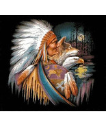 Native American WoLf EagLe Cross Stitch Pattern***LOOK*** - $4.95