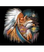 Native American WoLf EagLe Cross Stitch Pattern***LOOK*** - $4.95