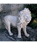 "37"" Regal Lion Estate Gate Sculpture Statue LEFT for Home or Garden - $286.11"