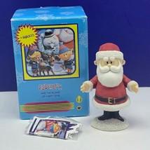 Rudolph Reindeer Enesco mini figurine Island Misfit toys 857823 Santa Claus box - $39.55