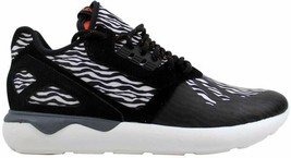 Adidas Tubular Runner White/Black-Orange B25531 Men's Size UK 11 - $131.39