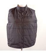 Catalina Black Nylon Double Zip Front Vest Womens Sz XL 16 - 18 - $28.93