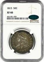 1813 50c NGC/CAC XF40 - Bust Half Dollar - $552.90