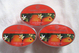 3 Colonial Candle ~~ORANGE BLOSSOM~~ Simmer Snaps/ Tarts 2.4oz Oval - $16.00