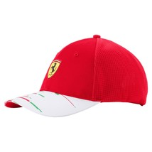 Puma Ferrari Men's SF Team Adjustable Trucker Baseball Cap Hat 02153601