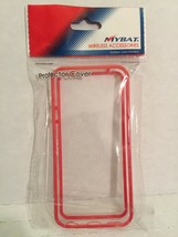 IPHONE5 CLEAR PROTECTIVE COVER PINK TRIM FS NIB  - $4.95