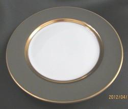 "Fitz And & Floyd  Gray Renaissance Inglaze Dinner Plate 10 3/8"" - $34.64"