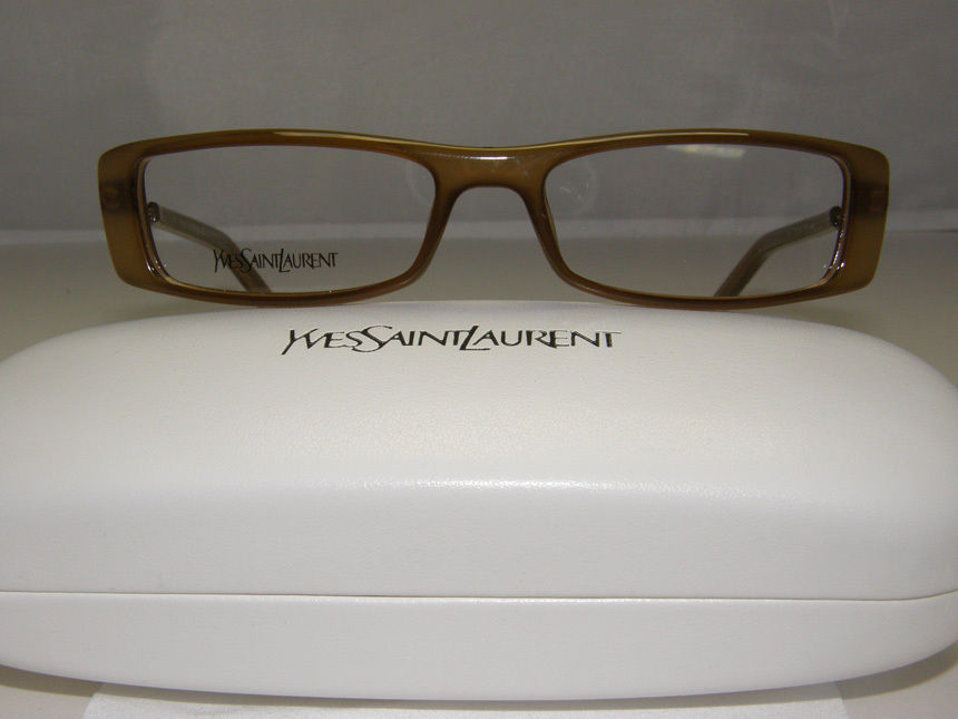 New Authentic YSL Eyeglasses YSL6091 X8Q YSL 6091