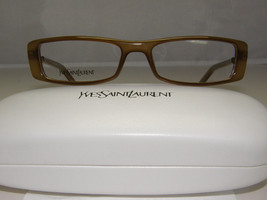 New Authentic YSL Eyeglasses YSL6091 X8Q YSL 6091 - $79.16