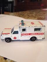 1977 Matchbox Superfast White Chevrolet Pacific Ambulance #101 Truck #41... - $10.00