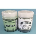 Pomada Topica Analgesica: Balsamo Negro (3.5 oz) and Savila (3.5 oz) - $12.99