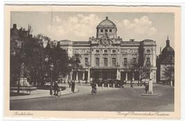 Kungl Dramatiska Teatern Theater Stockholm Sweden postcard - $6.44