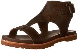 Timberland Womens Natoma Ankle Strap Dress Sandal Slipper Flip Canteen F... - $54.99