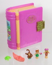 1995 Polly Pocket Vintage Lot Glitter Island Bluebird Toys COMPLETE - $55.00