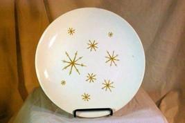 "Royal China Star Glow Atomic Dinner Plate 10 1/8"" - $4.26"