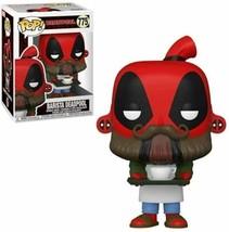 Funko Pop! Deadpool 30th Coffee Barista 775 - $14.39