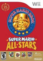 Super Mario All Stars (All-Stars) 25th anniversary Wii [video game] - $12.18