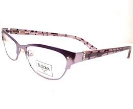 Bulova Gagey Periwinkle Eyeglasses  Women Frames 52-16-135 - $89.06
