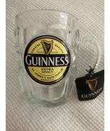GUINNESS Extra Stout St. James's Gate Dublin Dimpled Glass Tankard Beer ... - $29.69