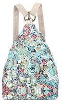 Black Butterfly Original Women's Bohemia National Style Canvas Backpack... - $50.43