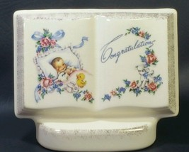 "1950's Planter""Books of Remembrance for New Baby""by Royal Windsor  - $6.93"